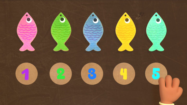 Picture of Using fish to learn to count