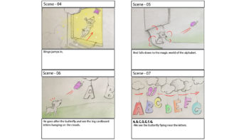 Picture of ABC Story Board