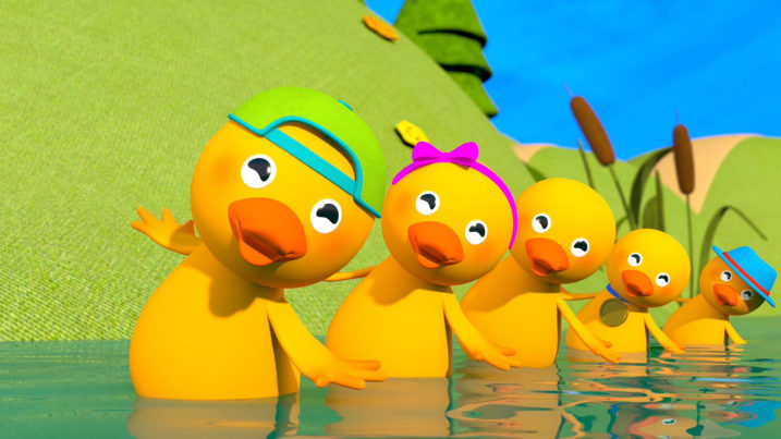 Picture of Five Little Ducks taking a bow