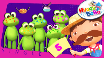 Five Little Speckled Frogs Thumbnail