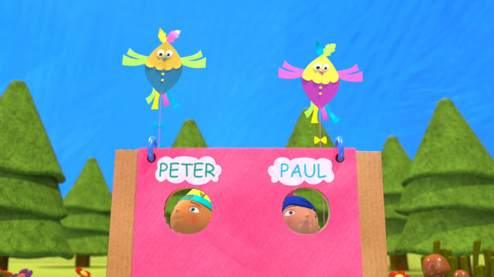 Picture of Two Little Dickie Birds - Peter and Paul