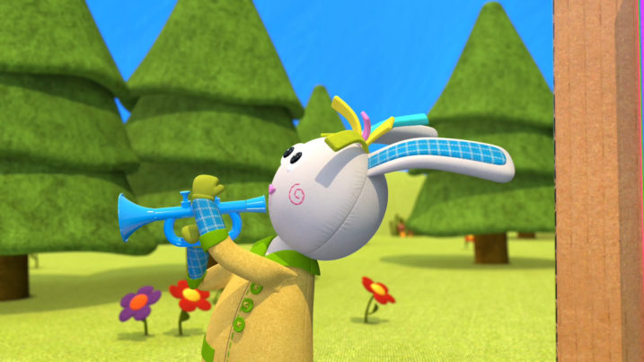 Picture of Rabbit providing the music